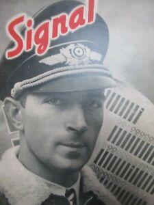 REVUE SIGNAL 1940's OCCUPATION MILITAIRE GUERRE MAGAZINE WW2 WAR NAZI PROPAGANDA