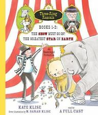 NEW The Show Must Go On/ The Greatest Star On Earth Books 1-2 On CD Kate Klise
