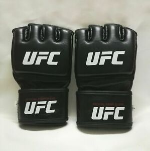 UFC MMA Black Fighting Boxing Leather Gloves  Mr. (Navisa44)