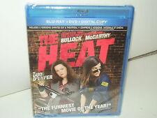 The Heat (Blu-ray/DVD/Digital, Canadian Region A, 2 Disc, 2013) NEW- Many Extras