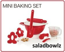 TUPPERWARE New KIDS MY FIRST MINI BAKING SET 13pc Learn Play Mix Bake Tupperkids