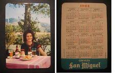 CALENDARIO DI BIRRA SAN MIGUEL 1964. BIRRA