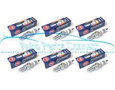 6 NGK IRIDIUM SPARK PLUGS FOR NISSAN RB25DET RB26DETT SKYLINE 2 STEPS COLDER JDM