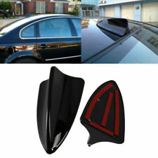 Universal Fit BMW Car Shark Fin Decorative Dummy Roof Antenna Aerial ABS Black