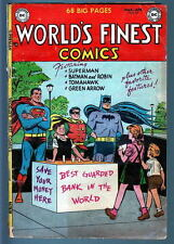 WORLD'S FINEST COMICS #69 w 68 pgs SCARCE 1954