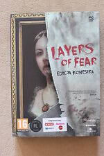 Layers of Fear Connoisseur Edition Collector's PC - NEW + STEAM