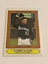 2020 Topps Throwback Thursday Baseball 1985 Woolworth - Ichiro Suzuki - Mariners
