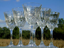 Service de 6 verres à eau en cristal d'Arques, modèle Capri
