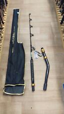 Okuma Makaira 37KG Stand Up Bent Butt Game Rod Full Alps Roller Guides 5'8' NEW