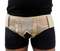 Medical Inguinal Hernia Brace Pressure Truss Groin Guard Double Support Belt