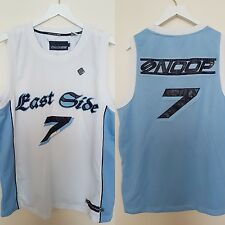 Vtg Snoop Dog 213 Top Jersey Vest Hip Hop 80' 90' Gansta Men Size L East Side 7