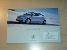 25231) Mercedes B-Klasse Polen Prospekt 2005