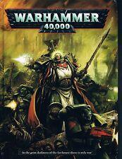 WarHammer 40K 40000 Rulebook by Games Workshop HC 2012 6th edition