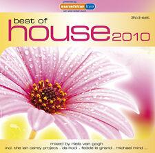CD Best Of House 2010 de Various Artistas 2cds