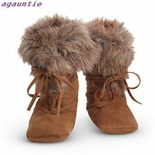 American Girl Kaya Winter Meet Accessories - Faux Fur Trimmed MOCCASINS Boots