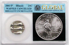 25c ILLINOIS STATE QUARTER 2003P CANCELLED IN A GLOBAL HOLDER