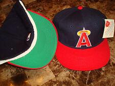 CALIFORNIA ANGELS HALO DIAM-COLL WOOL NEWERRA 1990'S HAT CAP VINTAGE Sz  7 3/8