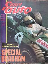 Sport Auto N°59 (déc 1966) Spécial Brabham - Essai Lamborghini - Tour de Corse