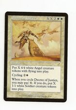 English//VO Decree of Justice//Décret de justice MTG Magic DDO