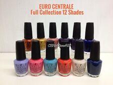 OPI - EURO CENTRALE Full Collection of 12 Shades x .5oz NL E71 - E82