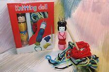 Kaper Kidz Wooden Knitting Doll w Yarn Toy- Learn to Knit! Spool/French Knitter!