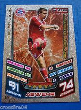 Match Attax 2013 2014 13 14 Limitierte Auflage LE 14 Bayern München Philipp Lahm