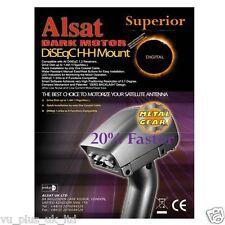 SUPERIOR DARK MOTOR METAL GEAR DiSEqC 1.2 / 1.3 USALS