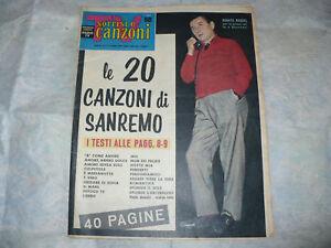 SORRISI E CANZONI TV 5/1960 SANREMO JULIETTE GRECO MINA