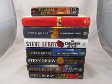 Steve Berry Book Bundle of 8 Books Hardcover & 1 Paperback Thriller Genre