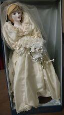 "Royal Doulton Nisbet Heirloom Dolls The Princess of Wales Wedding Diana 16"""