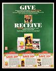1984 Happy Cats, Praise and Bonz Pet Food Brand Circular Coupon Advertisement