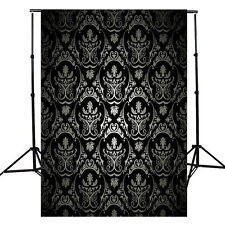 5x10FT Retro Damask Vinyl Photography Backdrop Background Studio Prop New B
