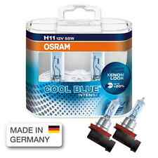 H11 OSRAM DUO-BOX-COOL BLUE INTENSE # XENON LOOK # 12 V 55 W # +20% 64211CBI-02