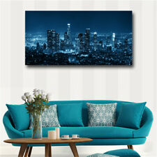 City Night Canvas Wall Art Poster Abstract Painting Picture Wall Print Painting