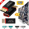 4K Display Port to HDMI Male Female Adapter Converter DisplayPort DP to HDMI UP