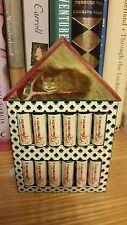 Lot 12 russische Micro Mini Bücher Alice im Wunderland Miniatur Souvenir Puppe