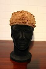 CAMEROUN old african headdress ancien coiffe KIRDI africa afrika hat cotton