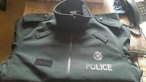PSNI  SOFTSHELL  LARGE TALL POLICE SERVICE NORTHERN IRELAND PATROL JACKET