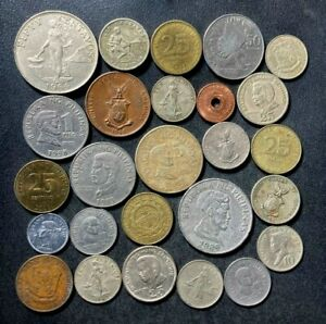 Old Philippines Coin Lot - 1937-PRESENT - 26 Vintage Coins - Lot #S14
