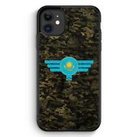 Kasachstan Kazakhstan Camouflage iPhone 11 Silikon Hülle Motiv Design Militär...