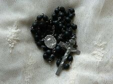 Vintage STERLING Silver Catholic Rosary
