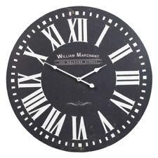 Horloges murales art déco noirs rondes pour la maison