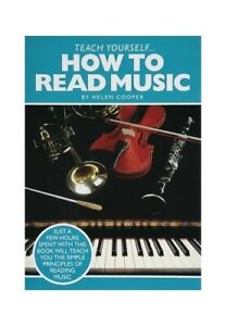 Teach Yourself How to Read Music Book The Cheap Fast Free Post