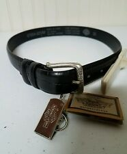 Harley Davidson men's crocodile belt, size 30