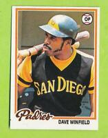 1978 Topps - Dave Winfield (##530)  San Diego Padres