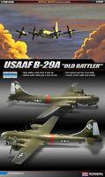 """1/72 USAAF B-29A """"Old battler"""" #12517 ACADEMY HOBBY KITS"""