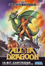 # alisia Dragoon-Sega Mega Drive/MD juego-Top #