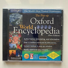 The Pop-up Oxford World Encyclopedia - First Editon - Pc (Brand New)