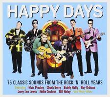 HAPPY DAYS (CHUCK BERRY, CARL PERKINS, LINDA SCOTT, ...) 3 CD NEUF
