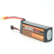 High Capacity 11.1V 3S 2200mAh 35C Lipo Battery Universal for RC Drone Airplane